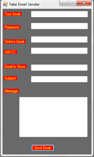 Email Spoofing Software  Email_10
