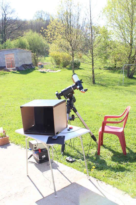 Un essai solaire en halpha Img_1611