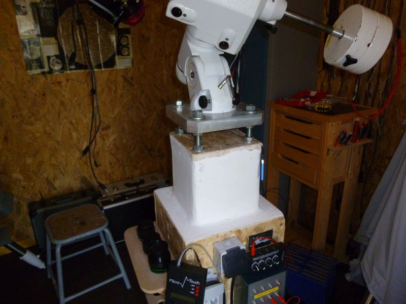 création d'un observatoire Cabanon P1000110
