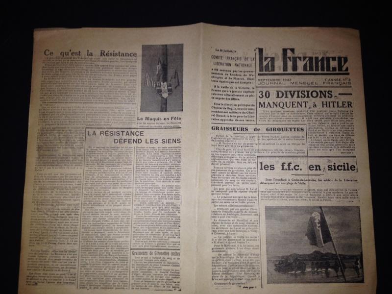 Journal clandestin de la Résistance Tract10