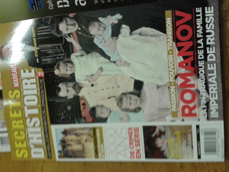 """Magazine """" SECRETS D'HISTOIRE""""  20131211"""