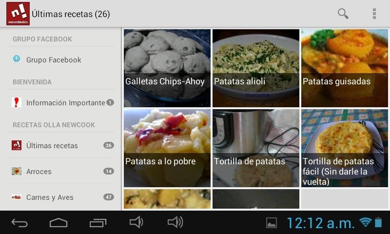 """NOVEDAD: Aplicación Android """"Recetas ollas programables"""" Screen10"""