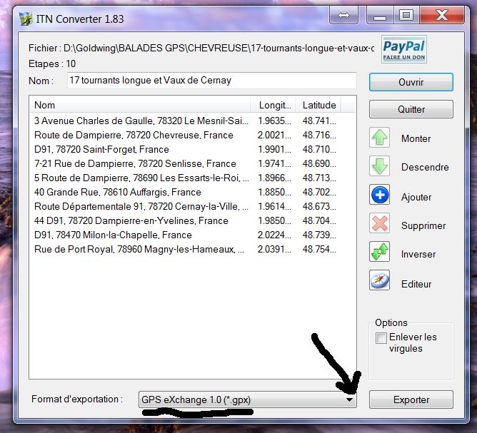 Tutoriel ITN Converter Format11