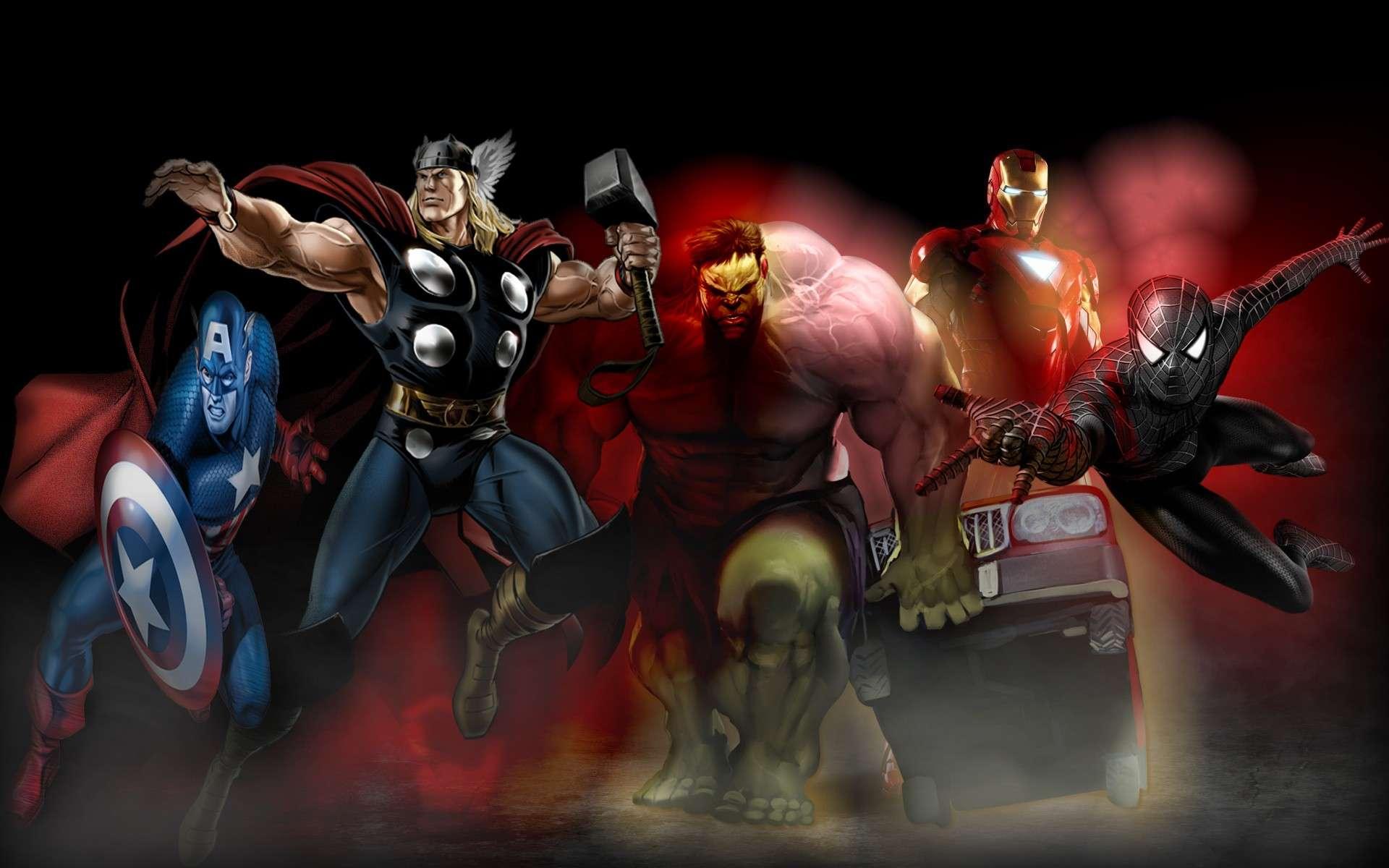 Fond d'écran Marvel Movies10