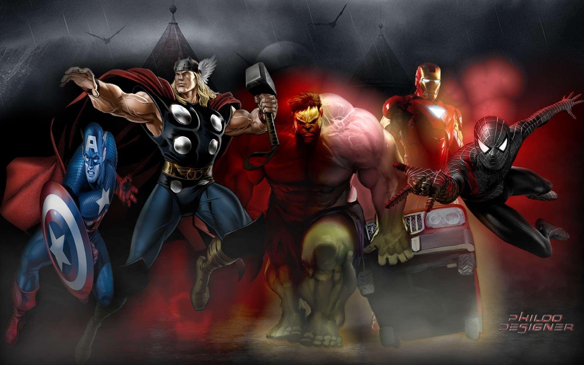 Fond d'écran Marvel Movies11