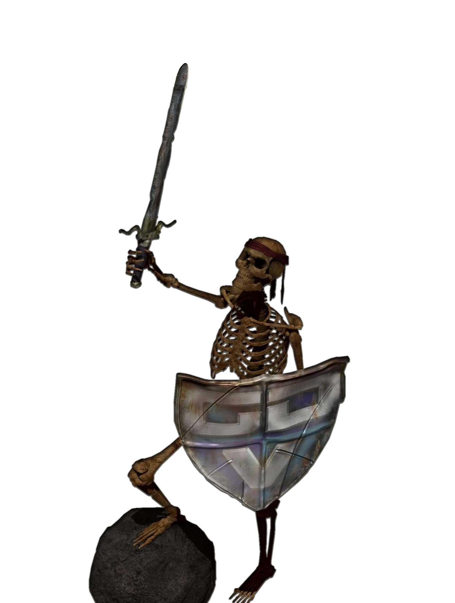 """Projet 4 """"Skull Warrior gdv"""" Skull-10"""