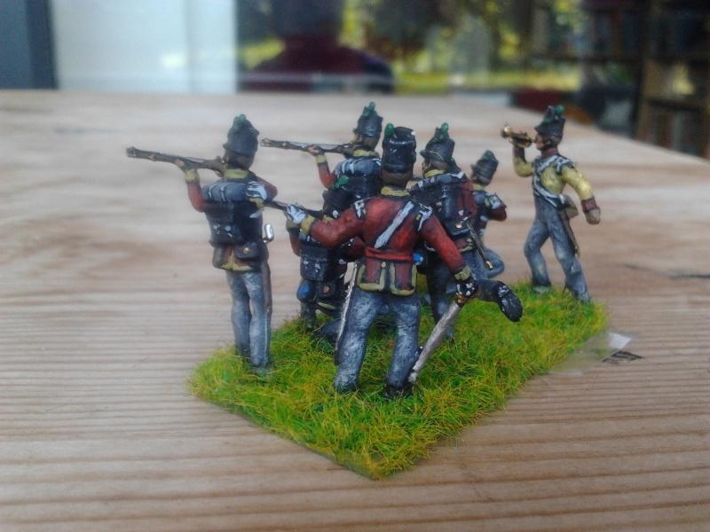 Le 52ème d'infanterie légère Britanique (régiment léger) 2014-016