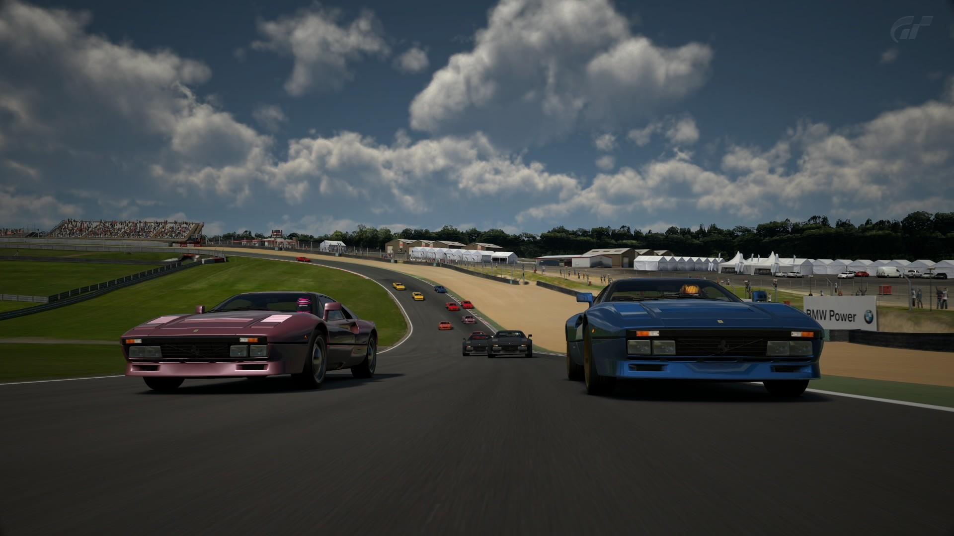 Crónica del Ferrari GTO en Brands Hatch Brands26