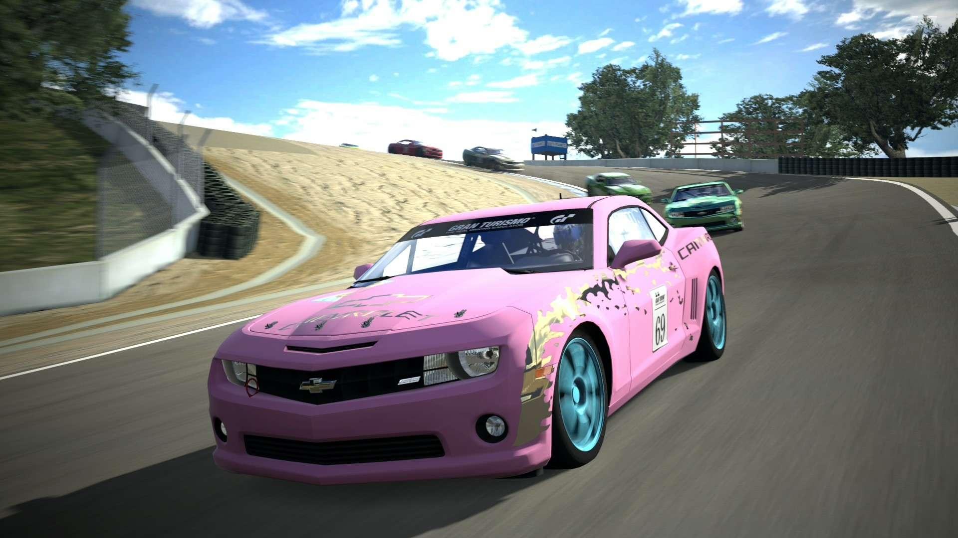 Termina la Copa Chevrolet Camaro en el Campeonato de Despedida de GT5 Laguna10