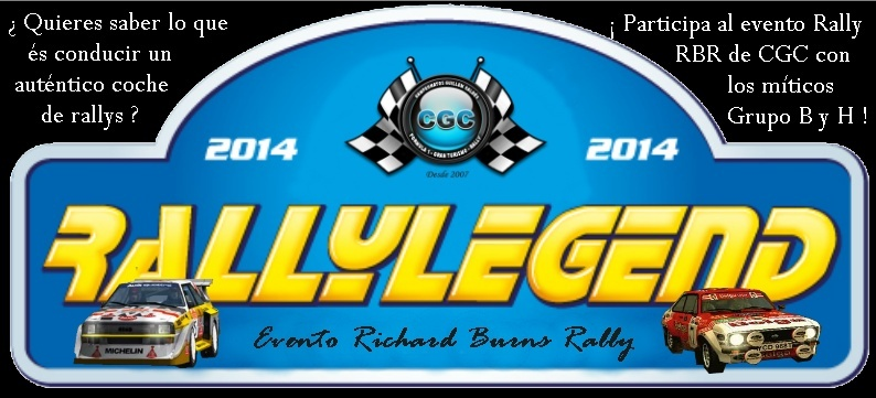 Entrenamientos Oficiales Libres del evento especial - Rally Legend - 28/03/2014 Logo_r37