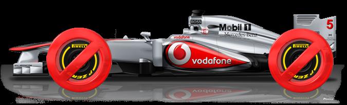 [Comunicado] Bug McLaren: 12 km/h menos que el resto Mc10