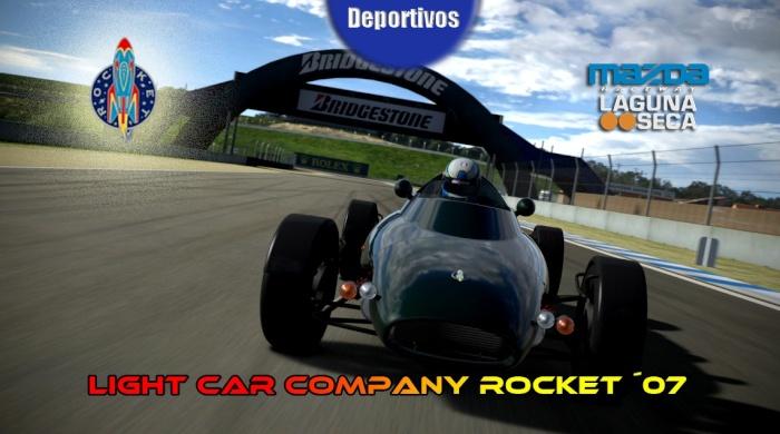 Entrenamientos Oficiales  -> Laguna Seca - Light Car Company Rocket (23/02/2014) Rocket12