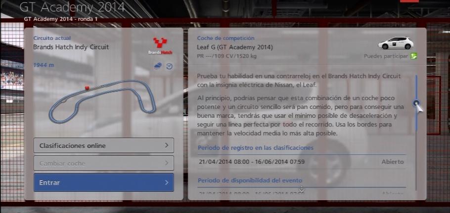 GT Academy 2014 Sin_ta37