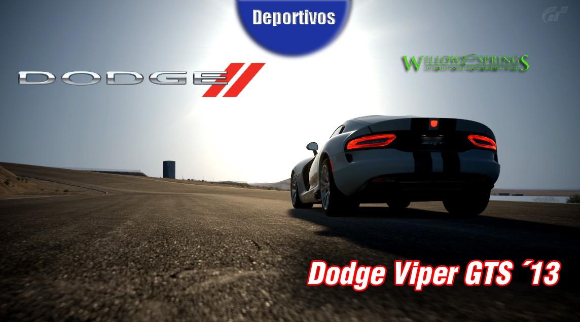 Entrenamientos Oficiales  -> Willow Springs - Dodge SRT Viper  (02/03/2014) Viper11