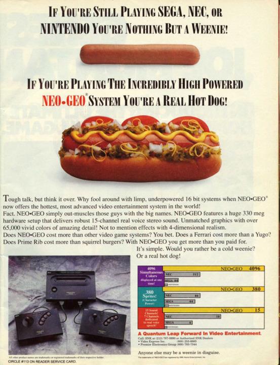 La sulfureuse campagne marketing de SNK 16787710