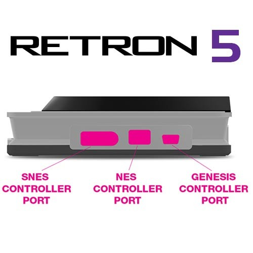 Retron5 , la console qui lit tout le catalogue retro nintendo Side-v10