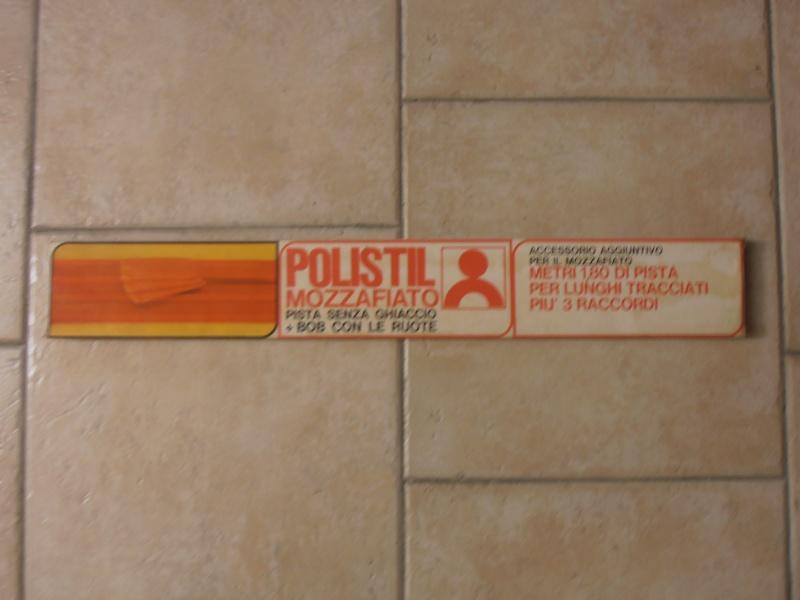 ACCESSORIO AGGIUNTIVO PER PISTA MOZZAFIATO POLISTIL. 01511