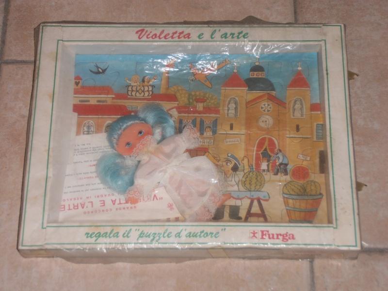 violetta e l'arte regala puzzle d'autore ,FURGA. 02010