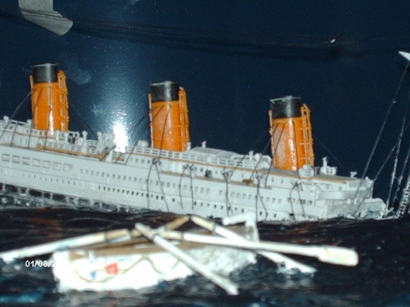 titanic - Diorama Relitto R.M.S. Titanic - Revell 1/570 Hpim1410