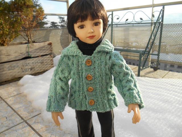 Violaine ( Maru ) brave le froid ! Dscn0210