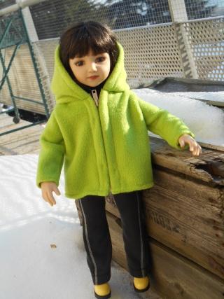 Violaine ( Maru ) brave le froid ! Dscn0212