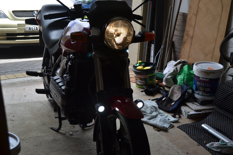 Fork Mounted LED Aux Lights Dsc_3111