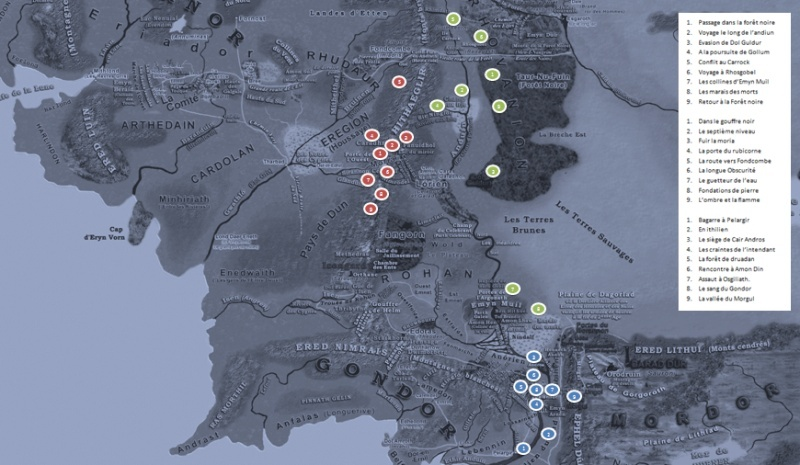 carte de la terre du milieu Sans_t12