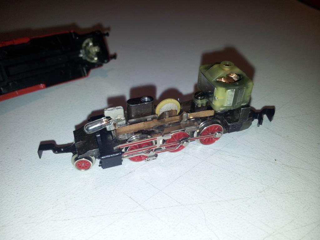 Soucis avec loco Marklin 8895 210