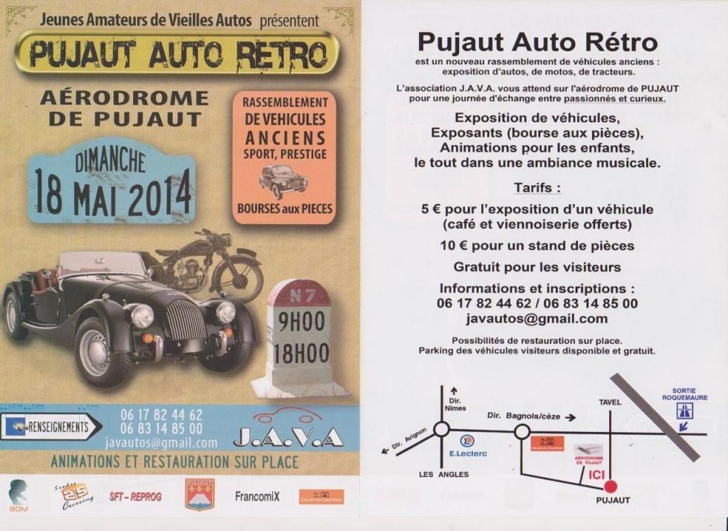 Pujaut Auto Rétro - Aérodrome de Pujaut (30131) - Dimanche 18 mai de 9h à 18h Flyer_10