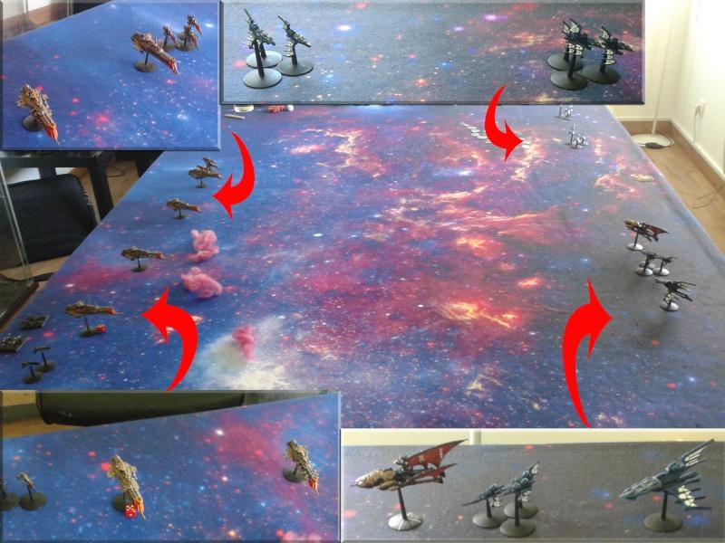 [Eldars vs Navy] ELdars (Elgilloo) Vs Impérium (Alistair) Format10