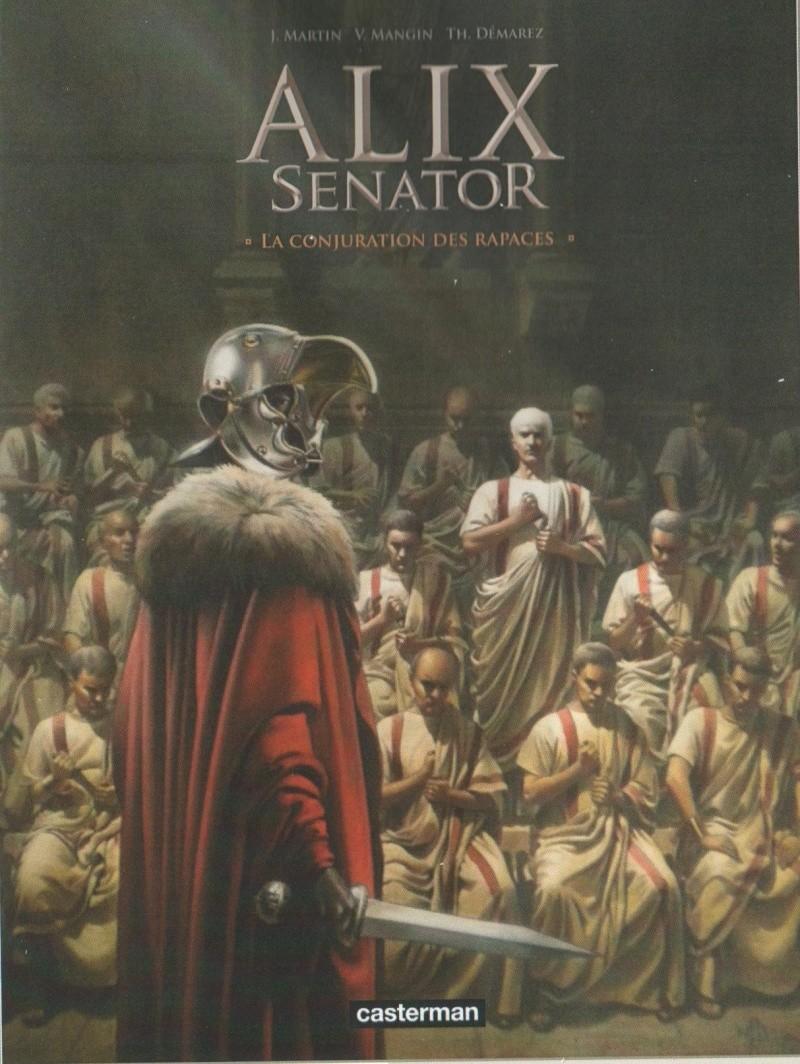 Alix Senator 3 : La conjuration des rapaces Senato10