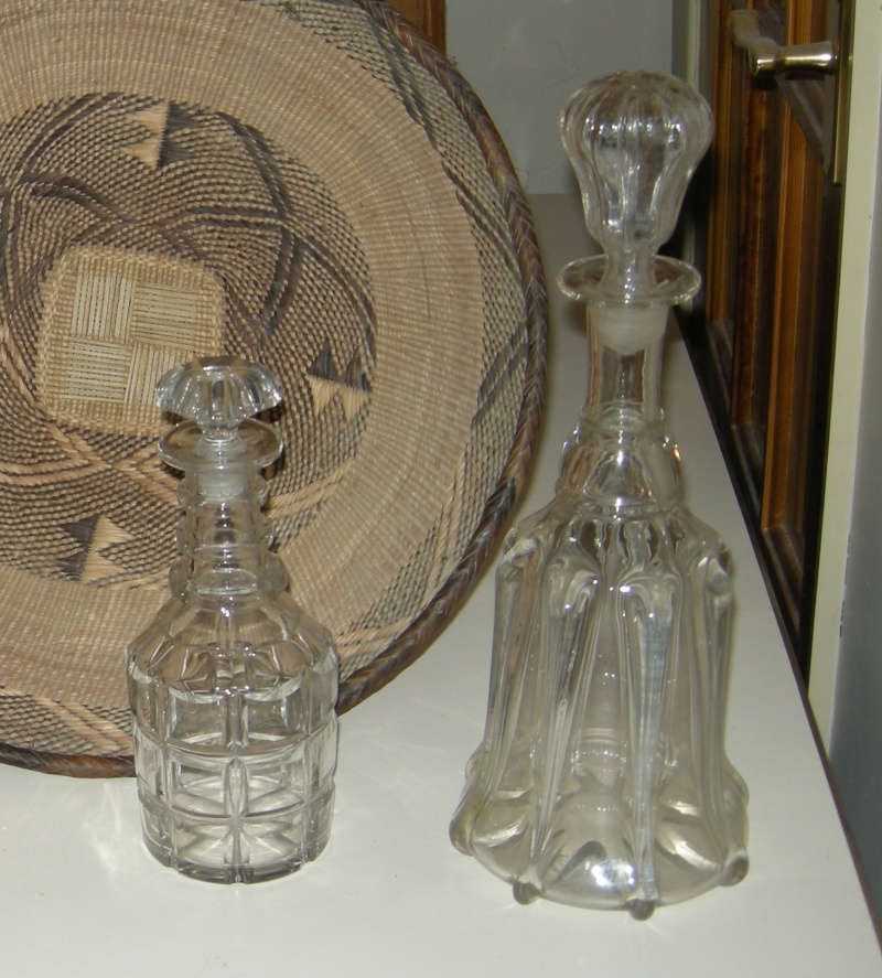 Any point in collecting clear glass decanters? Dscn9750