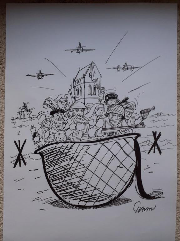 une collègue sympa : un dessin original de Chaunu 20201211