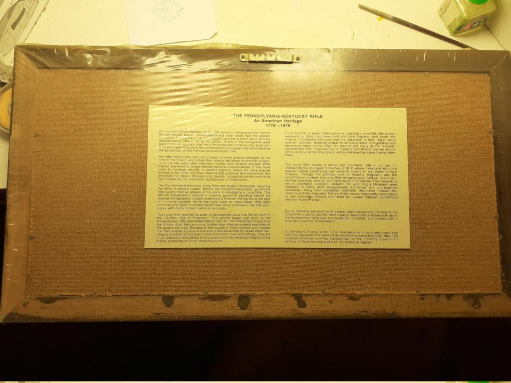 """Tableau commémoratif """"Ogives Speer"""" 1976 Sc_20268"""