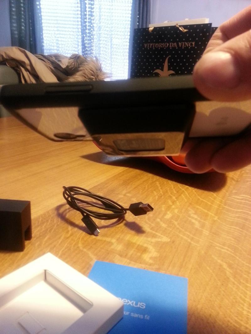 [PARTAGE]Retour ..impressions sur le chargeur officel sans fil google 20131210