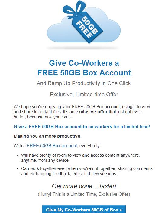 [INFO]BOX 50G à vie (cloud) Offre10