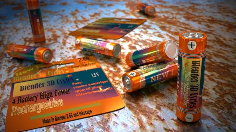 Piles rechargeables à la CYCLES Piles13