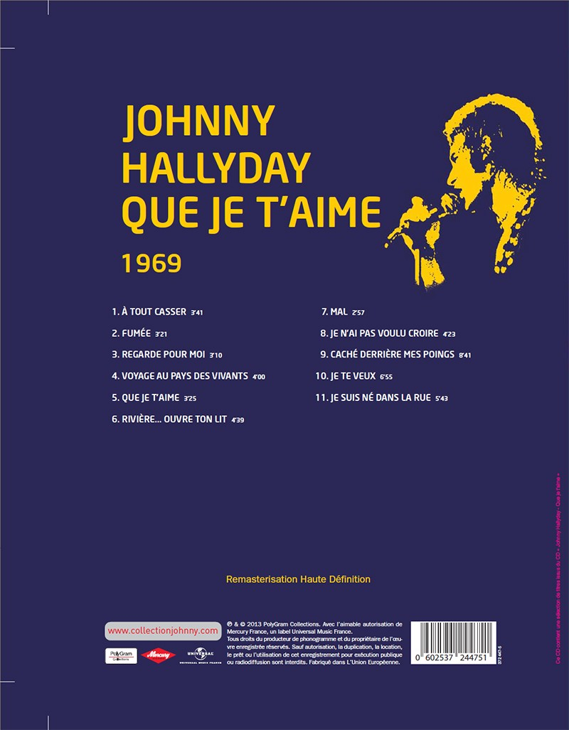 Volume 70 Que Je T'aime 1969 Jhcoll13