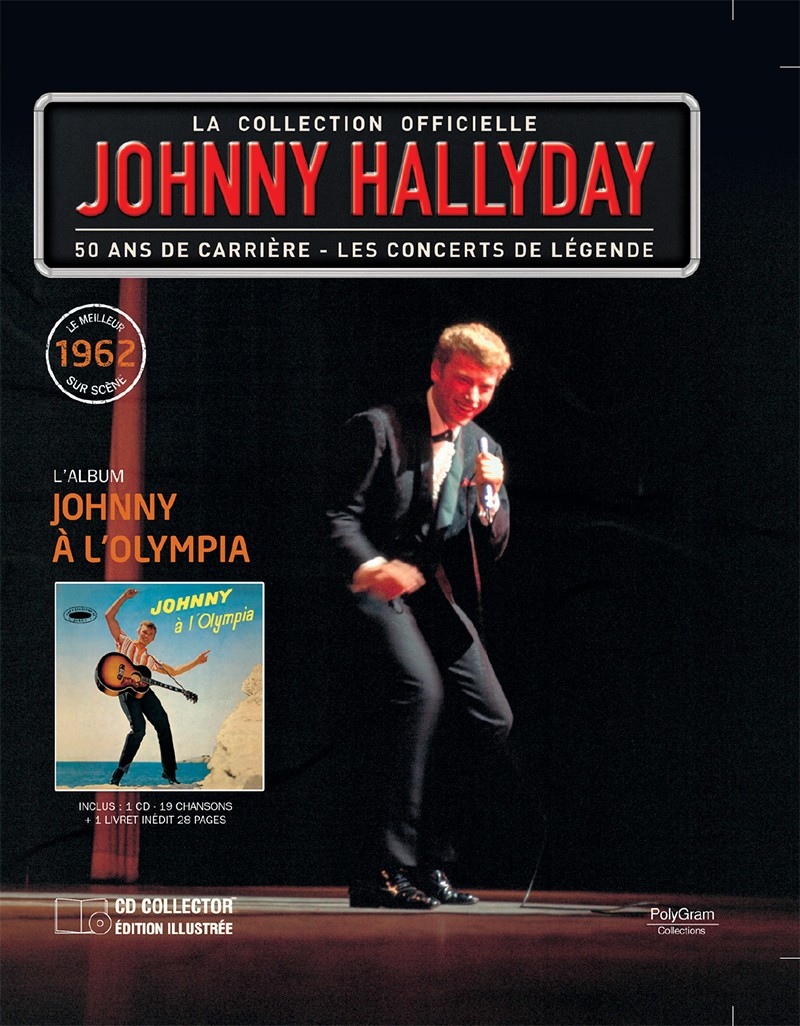 Volume 71 Johnny A l'Olympia 1962 Jhcoll18
