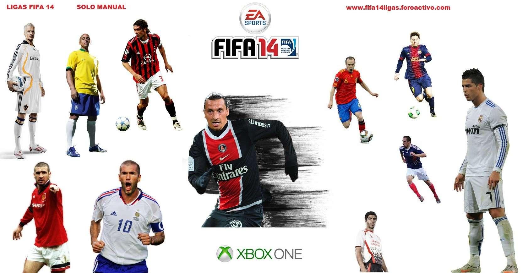 Liga Manual Fifa 14 XBOX ONE