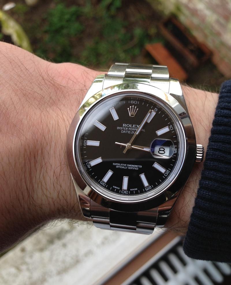 ROLEX Datejust 2 116300 cadran noir Img_1716