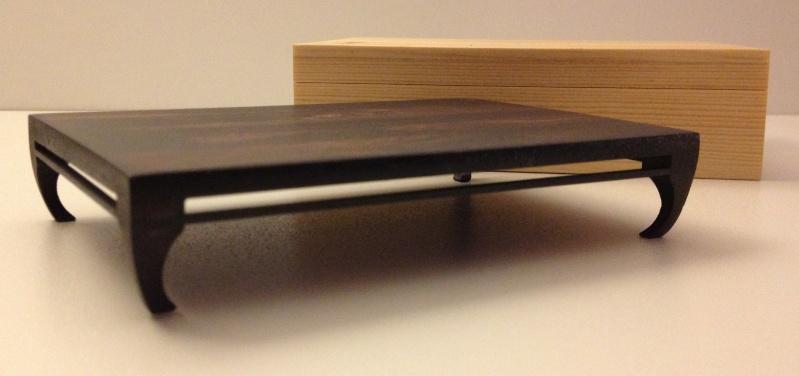 Small palissander bonsai table Img_4013