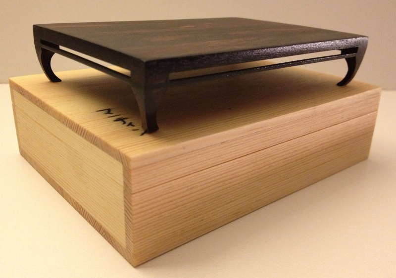 Small palissander bonsai table Img_4014