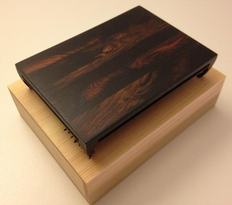 Small palissander bonsai table Img_4015