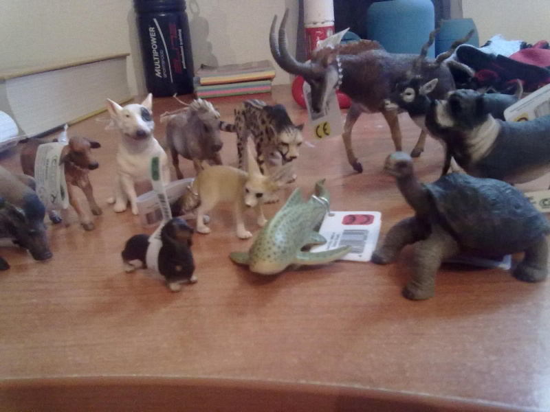 Collecta Dogs + horses + cats collection  27092011