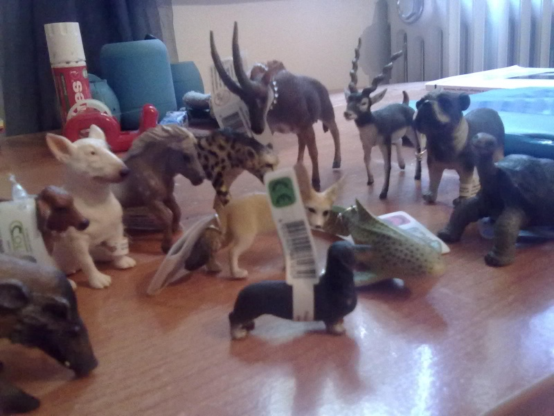 Collecta Dogs + horses + cats collection  27092012