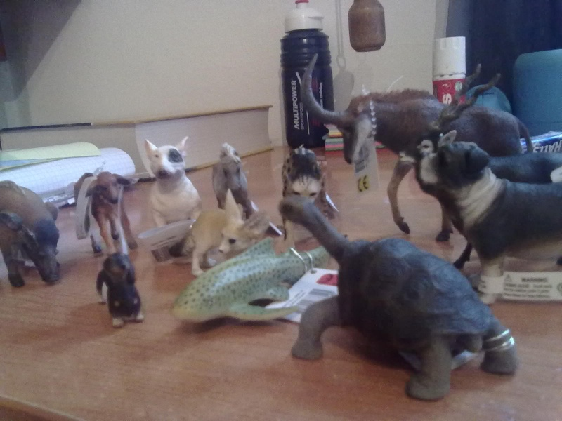 Collecta Dogs + horses + cats collection  27092013