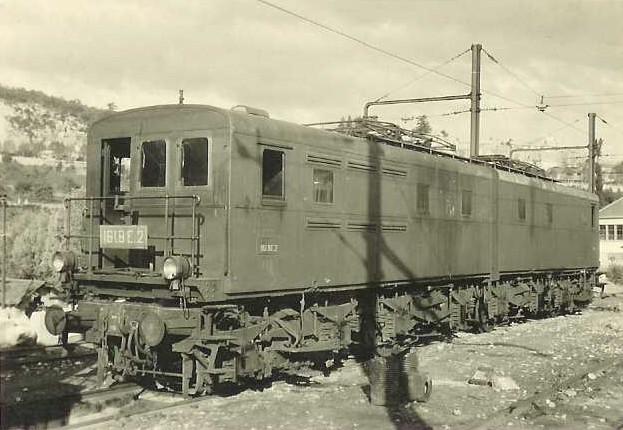 Locomotives 3ème rail Maurienne 161bem10
