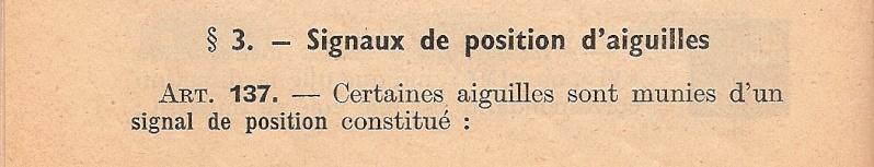 Titre I - Signaux de 1951 3010