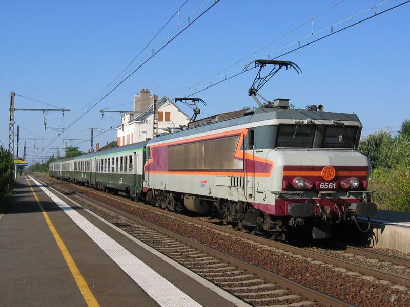 Locomotives CC 6500 Cc656110